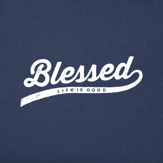 Women's Blessed Long Sleeve Crusher Vee