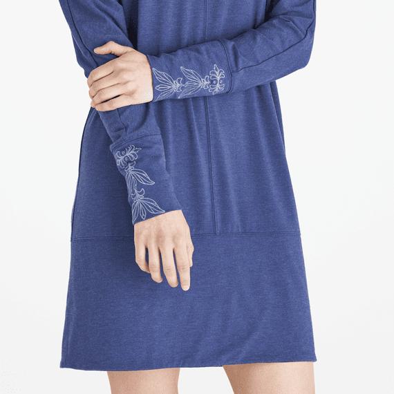 Women's Blooming Lotus Supreme Blend Banded Dress
