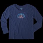 Women's Breathe Yogi Long Sleeve Breezy Tee