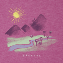 Women's Breathe in the Landscape Cool Vee