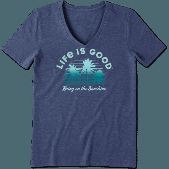 Women's Bring on the Sunshine Cool Vee