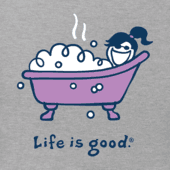 Women's Bubble Bath Vintage Crusher Tee