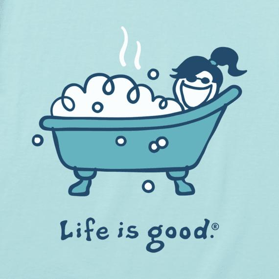 Women's Bubble Bath Vintage Crusher Tee