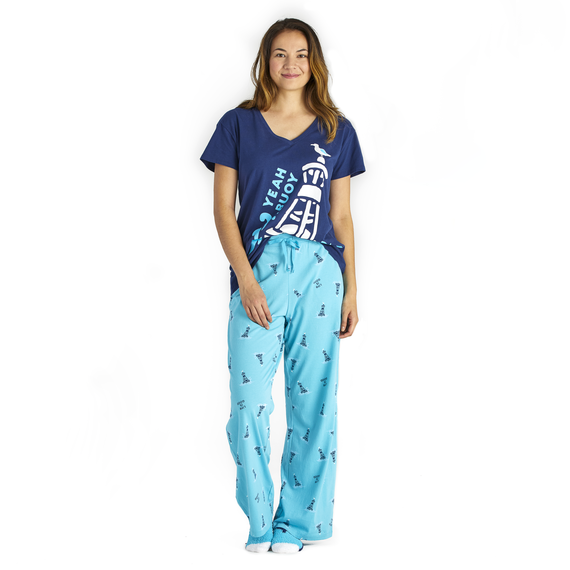 Women's Buoy Print Snuggle Up Sleep Pant