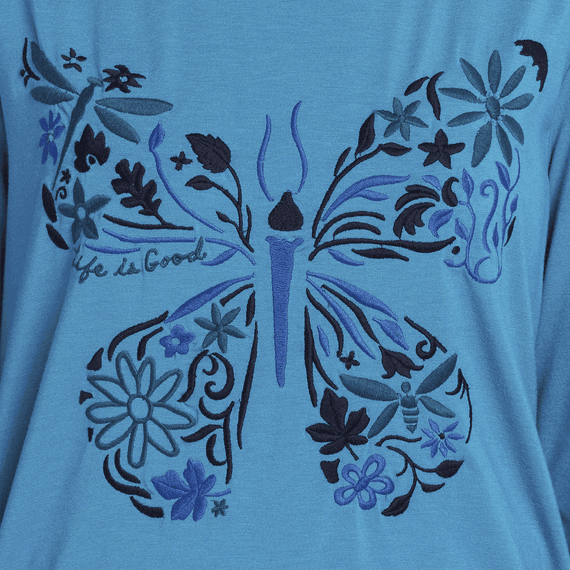Women's Butterfly Supreme Blend Scoop Pullover
