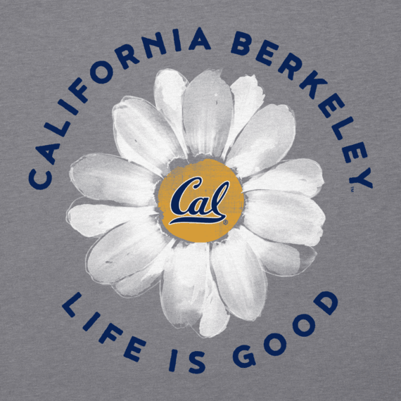 Women's California Daisy Long Sleeve Cool Vee