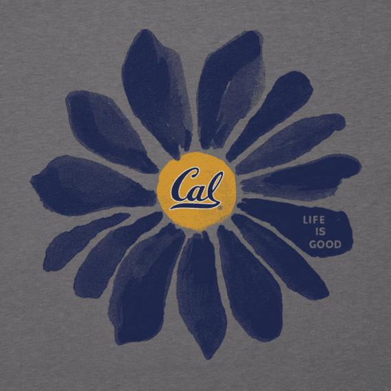 Women's California Golden Bears Daisy Long Sleeve Cool Vee