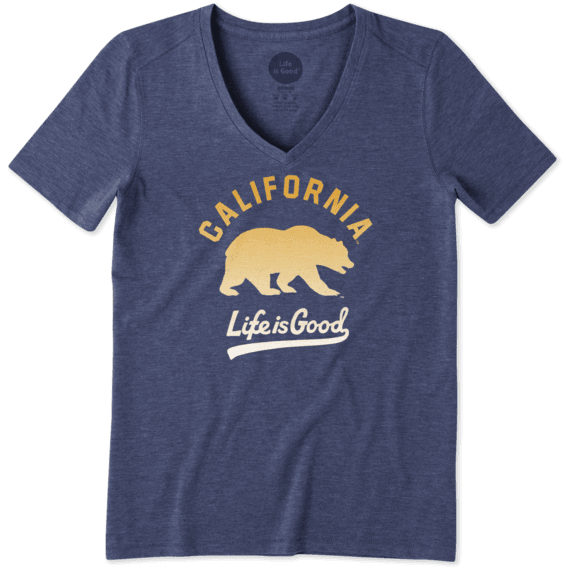 Women's California Golden Bears Gradient Tailwhip Cool Vee