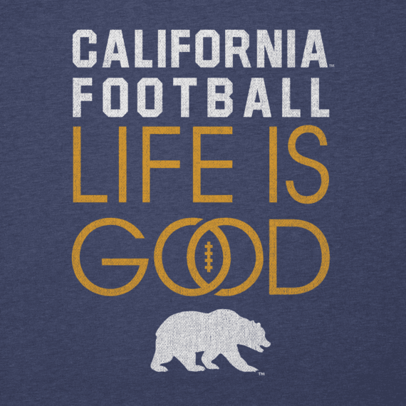 Women's California Golden Bears Infinity Football Long Sleeve Cool Vee