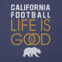 Women's California Golden Bears Infinity Football Long Sleeve Cool Vee