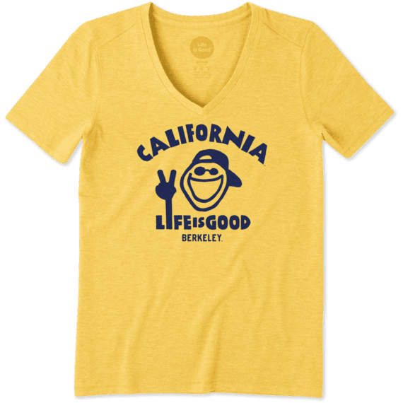 Women's California Golden Bears Jake Peace Cool Vee