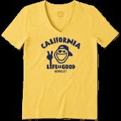 Women's California Golden Bears Jake Peace Cool Vee