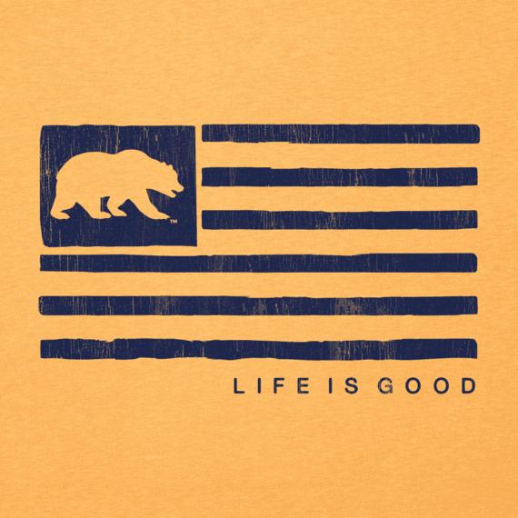 Women's California Golden Bears Team Flag Cool Vee