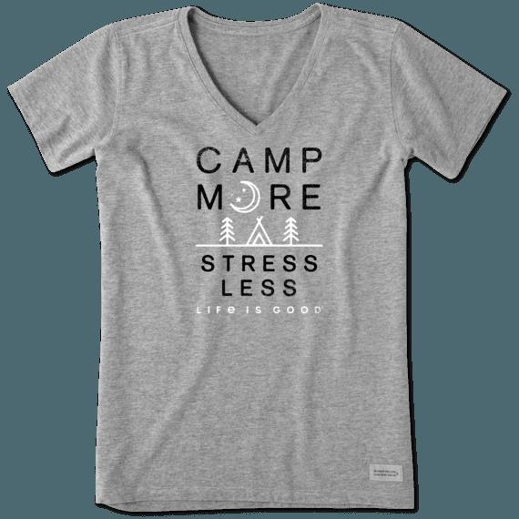 Women's Camp More Stress Less Crusher Vee