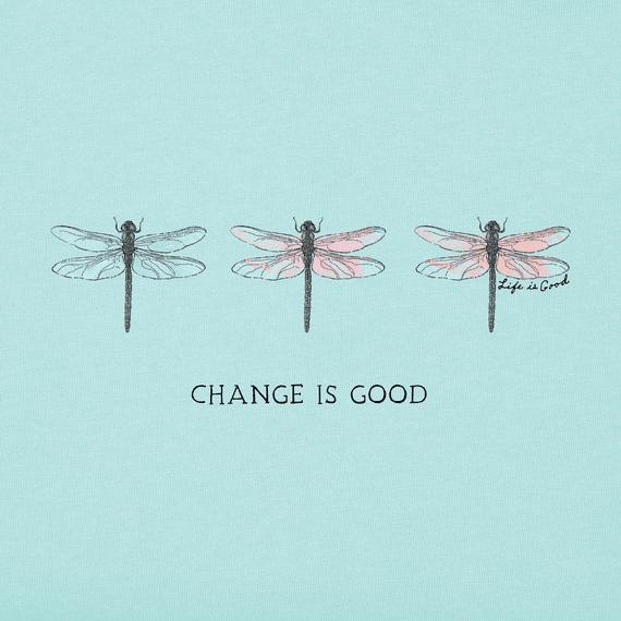 Women's Change Three Dragonflies Crusher Tee