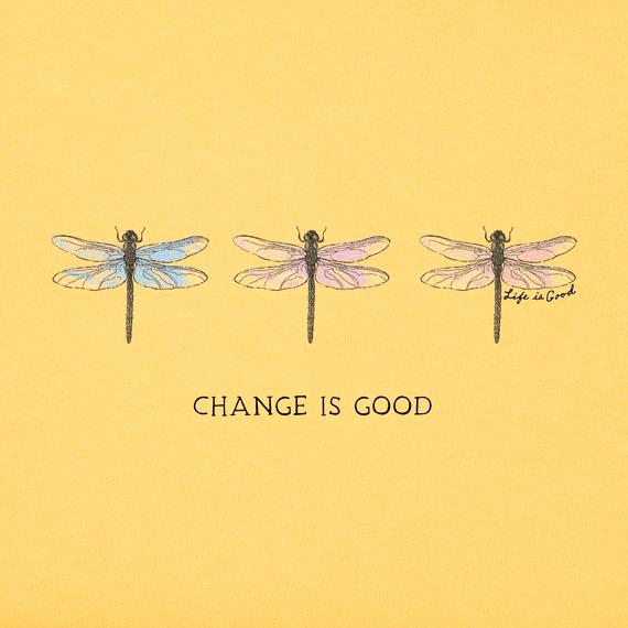 Women's Change Three Dragonflies Crusher Vee