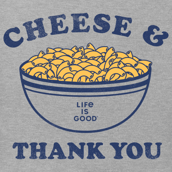 Women's Cheese and Thank You Crusher Tee