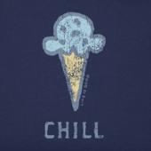 Women's Chill Ice Cream Crusher Tee