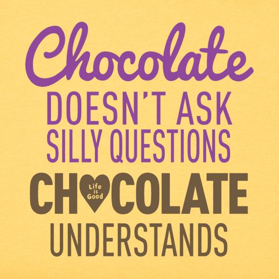 Women's Chocolate Understands Crusher Tee