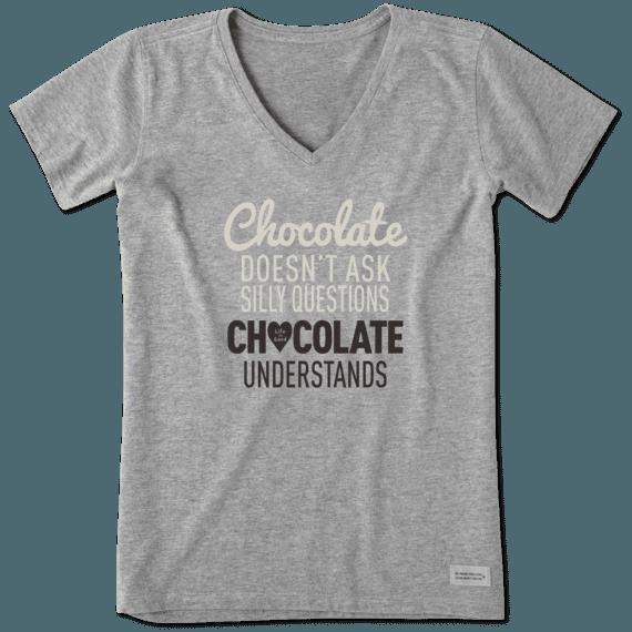 Women's Chocolate Understands Crusher Vee