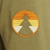 Women's Circle Pine Simply True Zip Hoodie