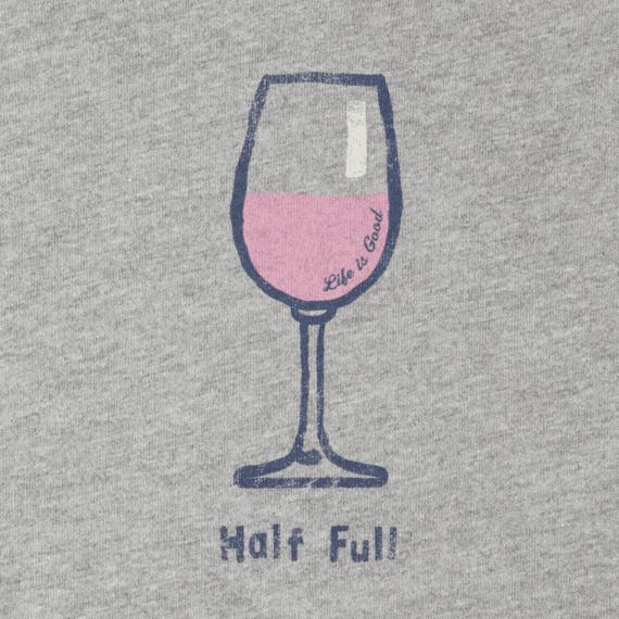 Women's Classic Half Full Wine Crusher Vee