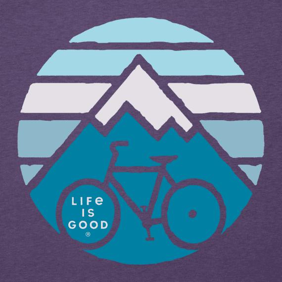 Women's Clean Mountain Bike Long Sleeve Cool Tee