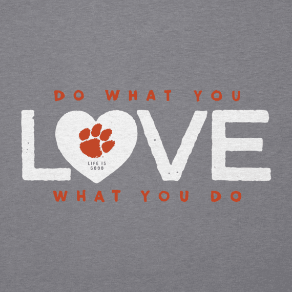Women's Clemson DWYL Heart Cool Vee