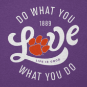 Women's Clemson Do What You Love Cool Vee