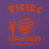 Women's Clemson Tigers Jake Peace Cool Vee
