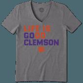 Women's Clemson Tigers LIG Go Team Cool Vee