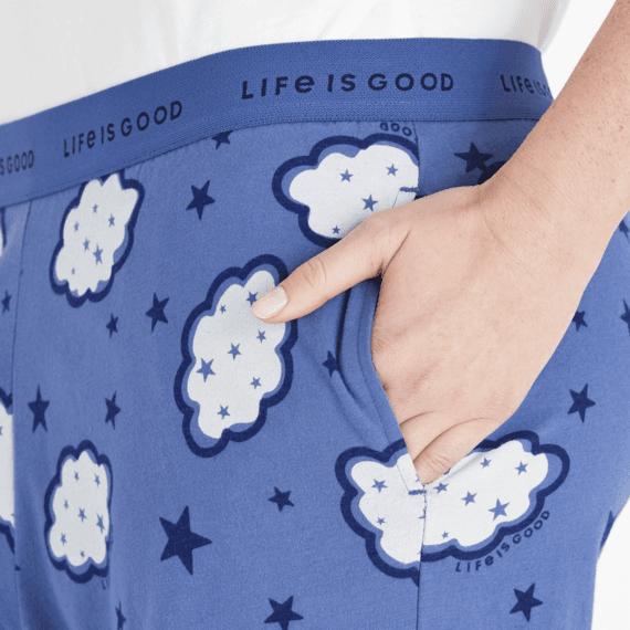 Women's Clouds & Stars Snuggle Up Sleep Pant