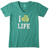 Women's Clover Life Crusher Vee