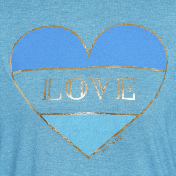 Women's Color Block Love Favorite Slouchy Tee