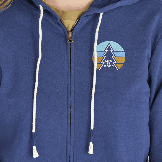 Women's Color Pine Simply True Zip Hoodie