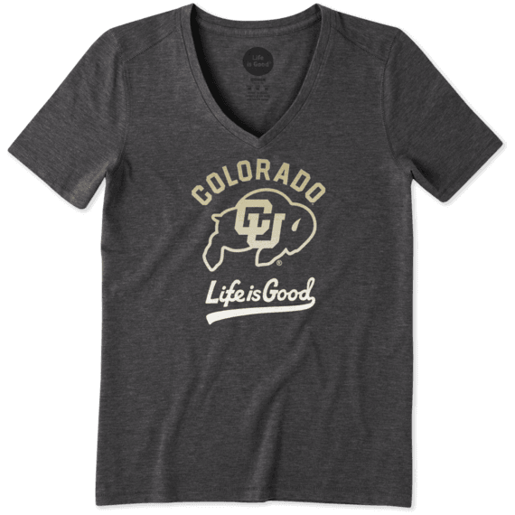 Women's Colorado Buffaloes Gradient Tailwhip Cool Vee