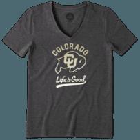Women's Colorado Buffaloes Gradient Tailwhip Cool Vee