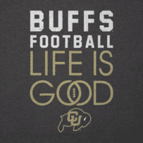 Women's Colorado Buffaloes Infinity Football Long Sleeve Cool Vee