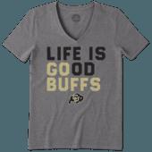Women's Colorado Buffaloes LIG Go Team Cool Vee