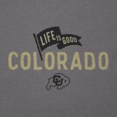 Women's Colorado Buffaloes Pennant Long Sleeve Cool Vee