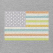 Women's Colorful Flag Crusher Vee