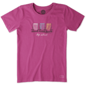 Women's Colorful Gathering Crusher Tee