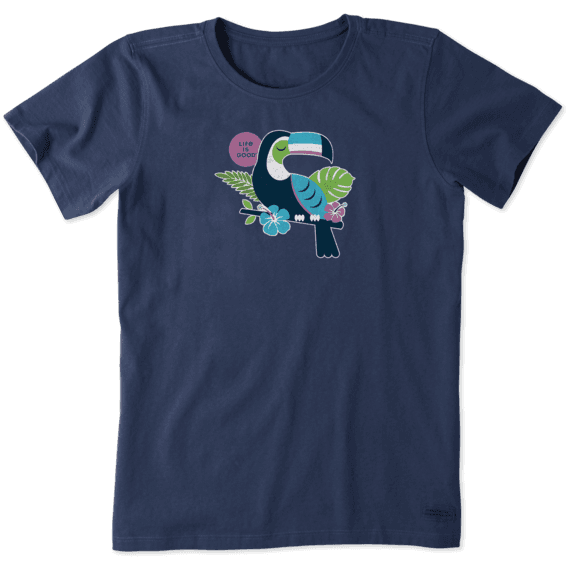 Women's Colorful Toucan Crusher Tee
