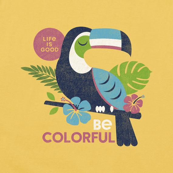 Women's Colorful Toucan Crusher Vee