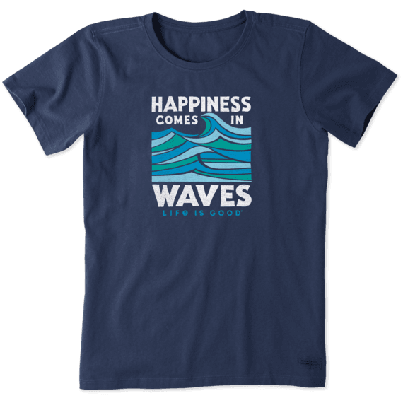 Women's Comes In Waves Crusher Tee