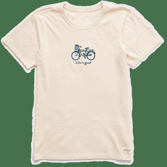 Women's Cruiser Bike Vintage Crusher Tee