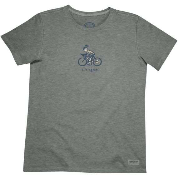 Women's LIG Biking Short Sleeve Crusher Tee | Biking Tee