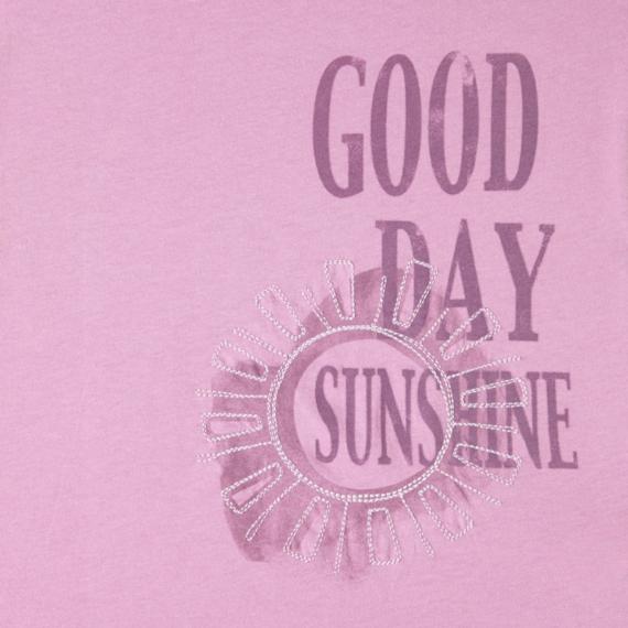 Women's Good Day Sunshine Lightweight Crusher Vee