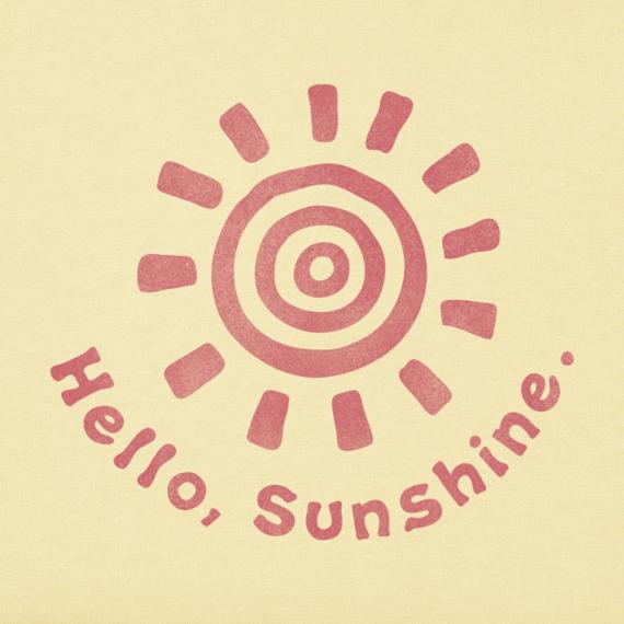 Women's Hello, Sunshine Sleeveless Crusher