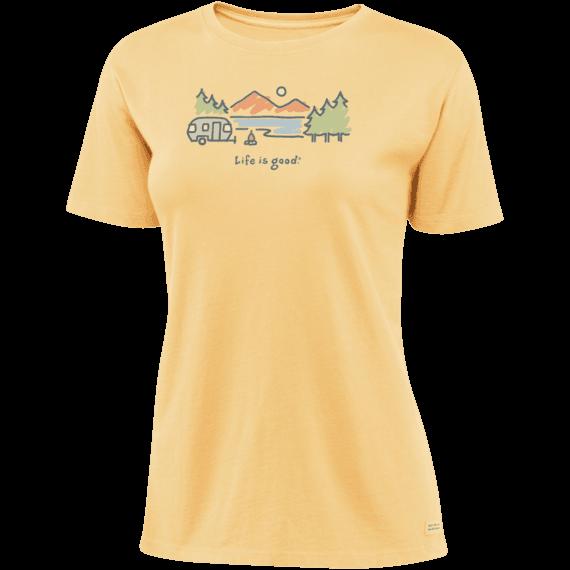 2422ff64862 Women s Airstream Lakeside Short Sleeve Crusher Tee
